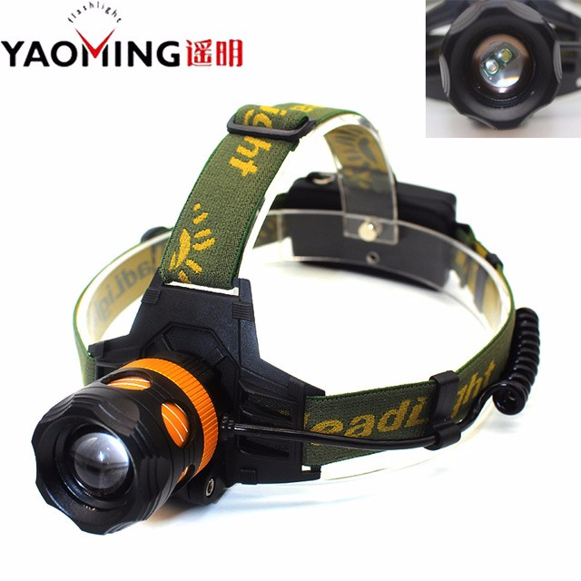 EU-US-Powerful-LED-Headlight-18650-Battery-Charger-Bicycle-10-W-Dual-light-Zoomble-headlamp-CREE
