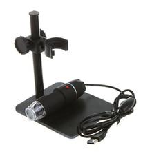 Discount! centechia Practical Electronics 5MP USB 8 LED Digital Camera Microscope Endoscope Magnifier 50X~500X Magnification Measure