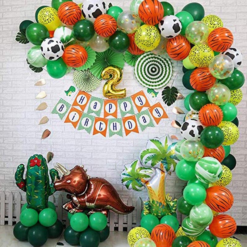 elephant/&pig animal head foil balloons animal air ballons theme party supply FJ