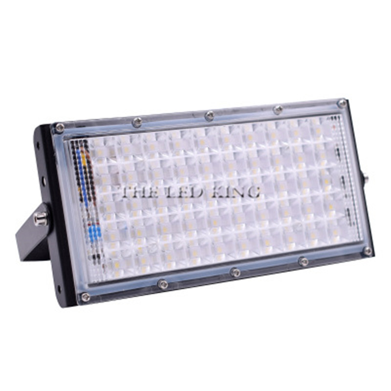 Image 4 - LED Flood Light 50W Outdoor Floodlight Waterproof IP65 Wall Reflector Lighting 220V 240V Street Lamp Spotlight-in Floodlights from Lights & Lighting