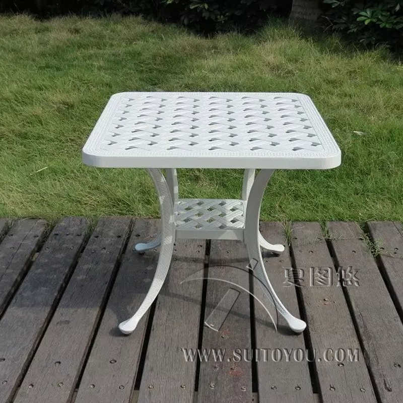 Cast Aluminum Coffee Table For Garden Leisure Outdoor Furniture Garden Furniture Outdoor Table|table For Garden|cast Tablecast Aluminium Table - AliExpress