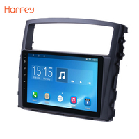 Harfey 9 Android 8,1/7,1 2Din радио автомобиль Mitsubishi PAJERO V97/V93 2006 2007 2008 2009 2010 2011 2012 2013 мультимедийный плеер