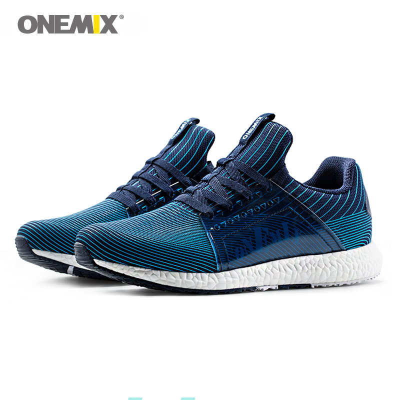 Onemix Running Shoes for Men Sneakers for Women Trainer Breathable Comfortable Athletic Shoes Outdoor Walking jogging