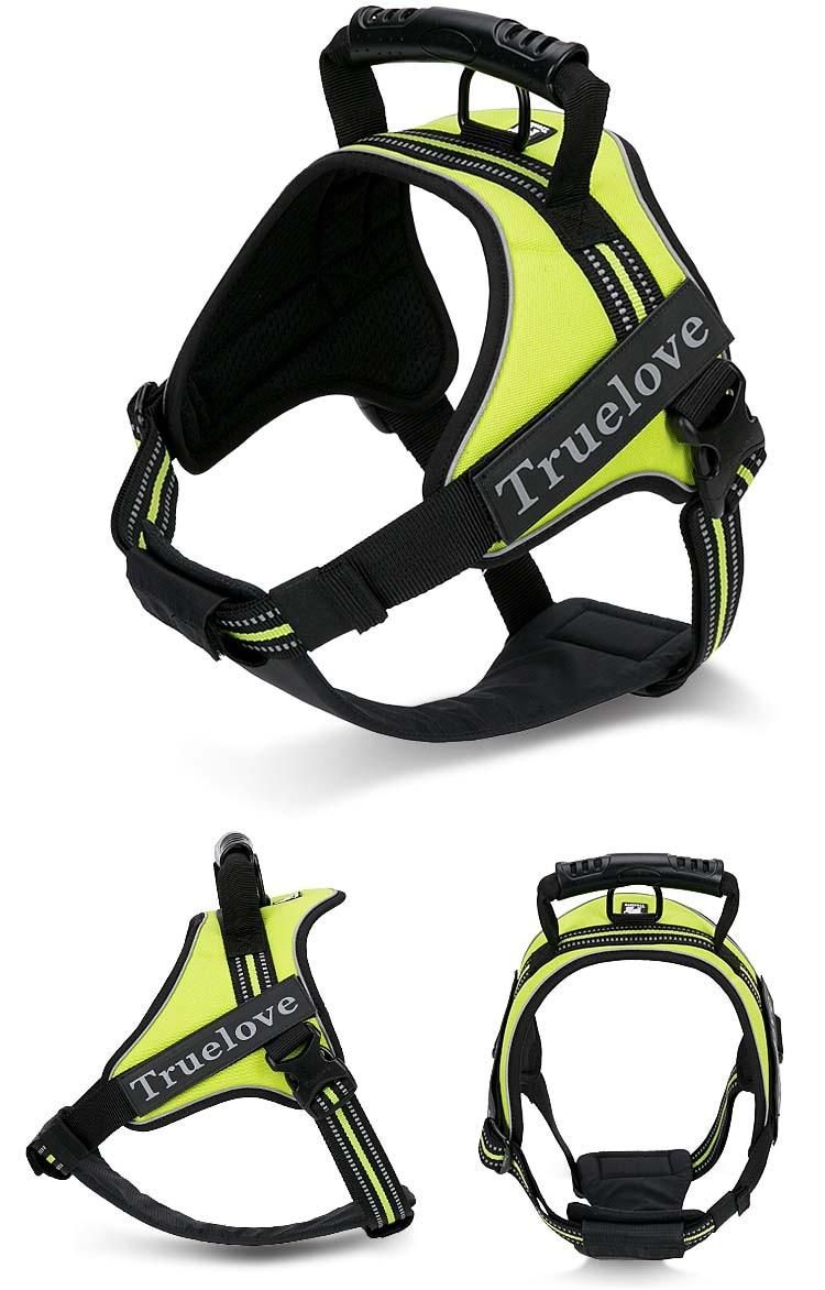 MySudui Truelove large service dog vest harness collar car german shepherd tactical vest best selling 2018 product dog supplies (4)