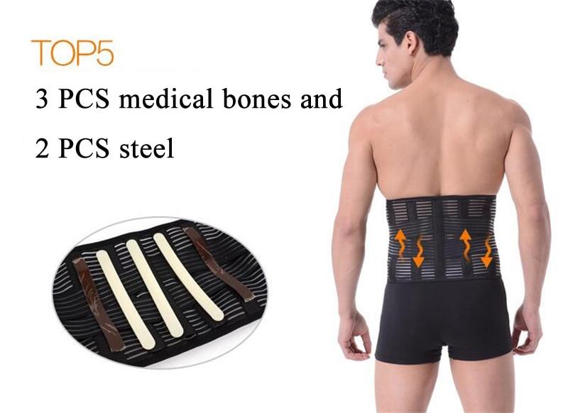 Ortopédico Corsé Cinturón de soporte para la espalda Hombres - Cuidado de la salud - foto 5