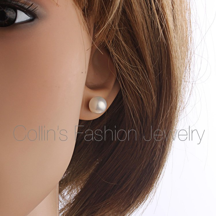 Pearl Earring Stud Earrings For Women Bijoux Gold Ear Brinco Ouro - Fashion Jewelry - Photo 4
