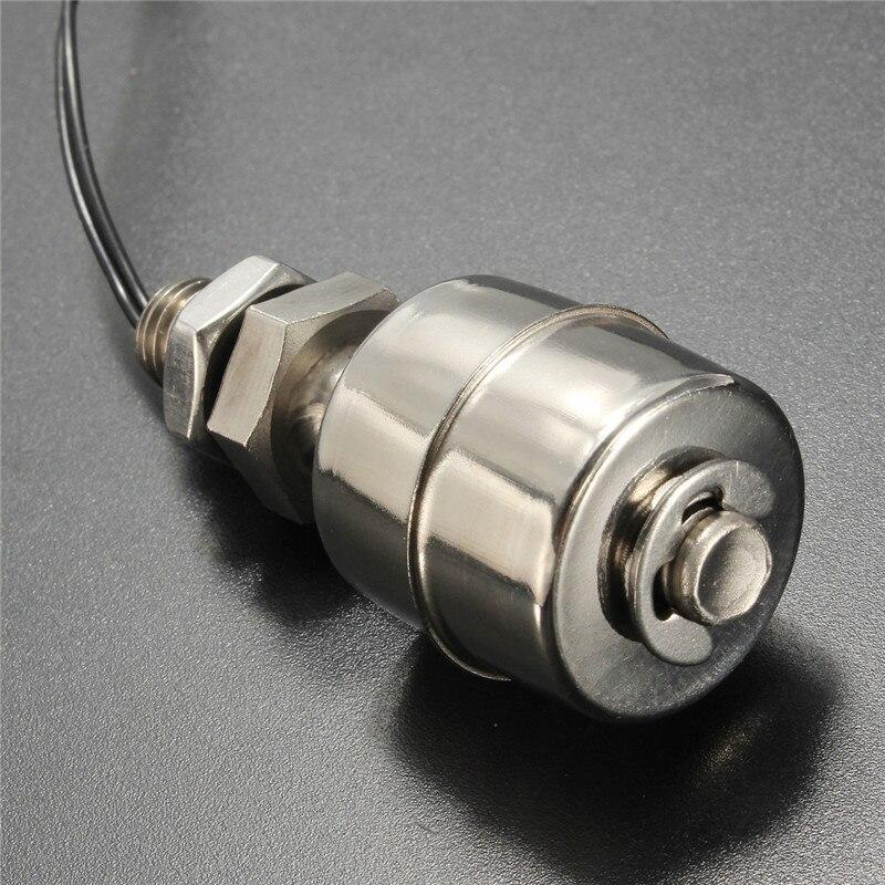 <font><b>Best</b></font> <font><b>Price</b></font> Mini <font><b>304</b></font> <font><b>Stainless</b></font> <font><b>Steel</b></font> SUS Vertical Liquid Water Level Sensor Internal Float Switch 45mm Line 35CM 10W