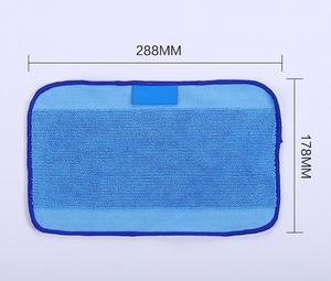 Image 2 - 20pcs/lot Mixed Microfiber 10pcs Mopping Cloths wet + 10 pcs dry for iRobot Braava 380 380t 320 Mint 4200 4205 5200 5200C