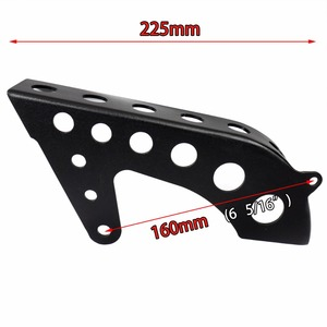 Image 5 - Motorcycle Front&Rear Black Drive Pulley Engine Upper Cover Sets For Harley Sportster XL 883 1200 48 72 SuperLow 2004 2018