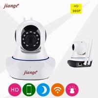 Jiange 720P HD Wireless IP Camera Night Vision Mini Wifi CCTV Camera Smartphone Remote View Multi