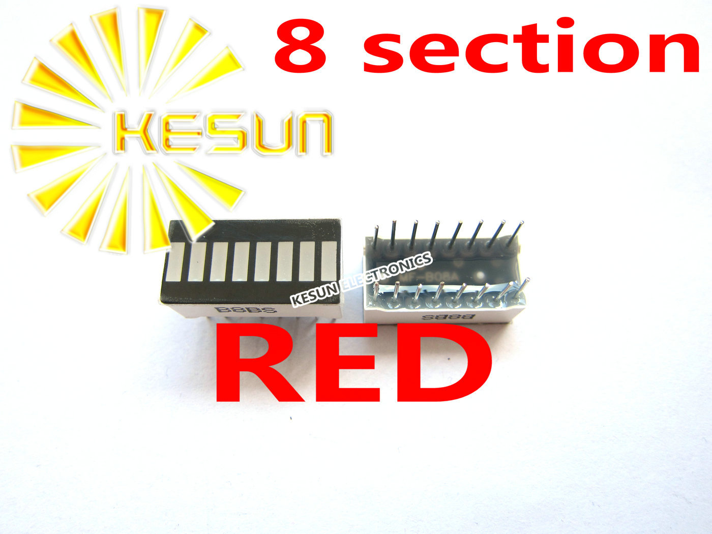 10PCS X 8 Segment Red Digital Tube LED Display Module B8R B8BR B08BR