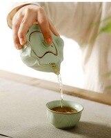 Ceramic Drinkware Coffee Tea Sets Ceramic Teapot Kettle GaiWan Teacup Porcelain Portable Travel Tea Set Chinese Kung Fu Tea Set