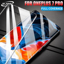 ZLNHIV for oneplus 7 pro 6 6T 5 5T 3 3T tempered glass for oneplus 7 pro protective film glass smartphone phone screen protector