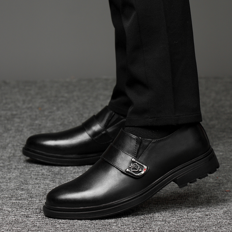 Hombre Black Boda Anti Fiesta P4 De Vestir Casula Genuino slip Negocios Elegante 2019 Los Zapatos Hombres Cuero Vestido TS0Uw0