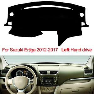 Image 2 - Car Dashboard Cover Dash Mat For Suzuki Ertiga 2012 2013 2014 2015 2016 2017 Dashmat Pad Carpet Dash Board Cover Auto Sun Shade