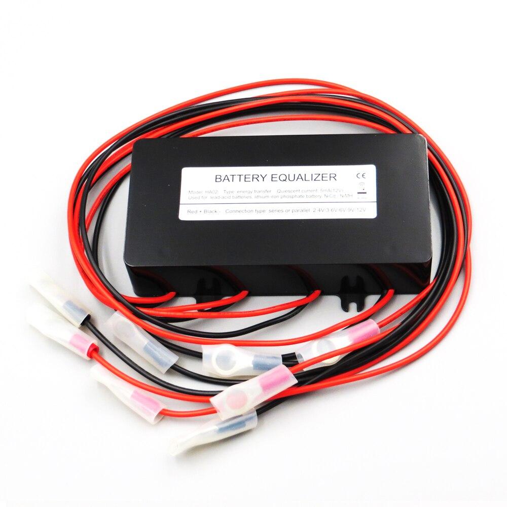 Égaliseur de batterie HA02 4X6 V | 9 V | 12 V utilisé pour le contrôleur de chargeur solaire de panneau de cellules PV d'équilibrage de batteries au plomb-acide