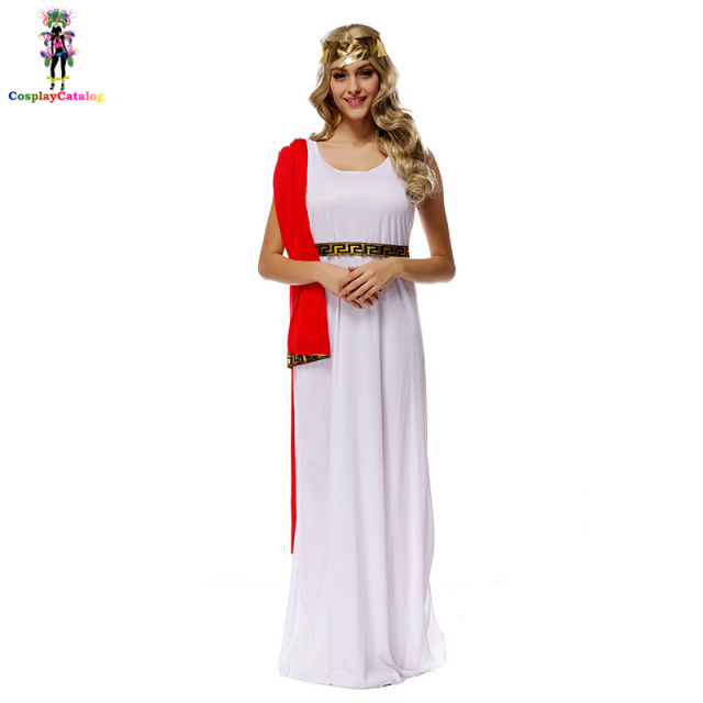 Ancient Greek Mythology Women CostumesGreek Deities Goddess Athena CostumeHalloween Adult Party Dignified  sc 1 st  AliExpress.com : ancient greek costume  - Germanpascual.Com