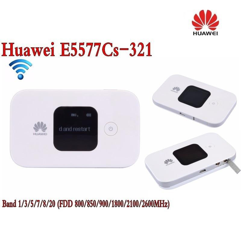 Unlocked Huawei E5577 4G LTE Cat4 e5577cs-321 Mobile Hotspot Wireless Router wifi pocket mifi dongle 4g lte pocket wifi router car mobile hotspot mifi unlocked modem wireless broadband for apple iphone samsung huawei xiaomi phone