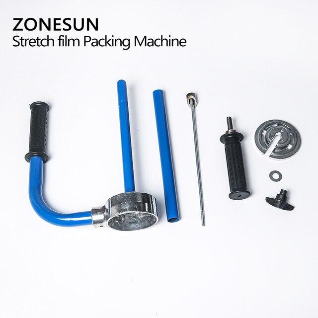 ZONESUN offre spéciale souffleuse pour Pe étirable Film Machine outil PVC extrudeuse Film distributeur Machine demballage