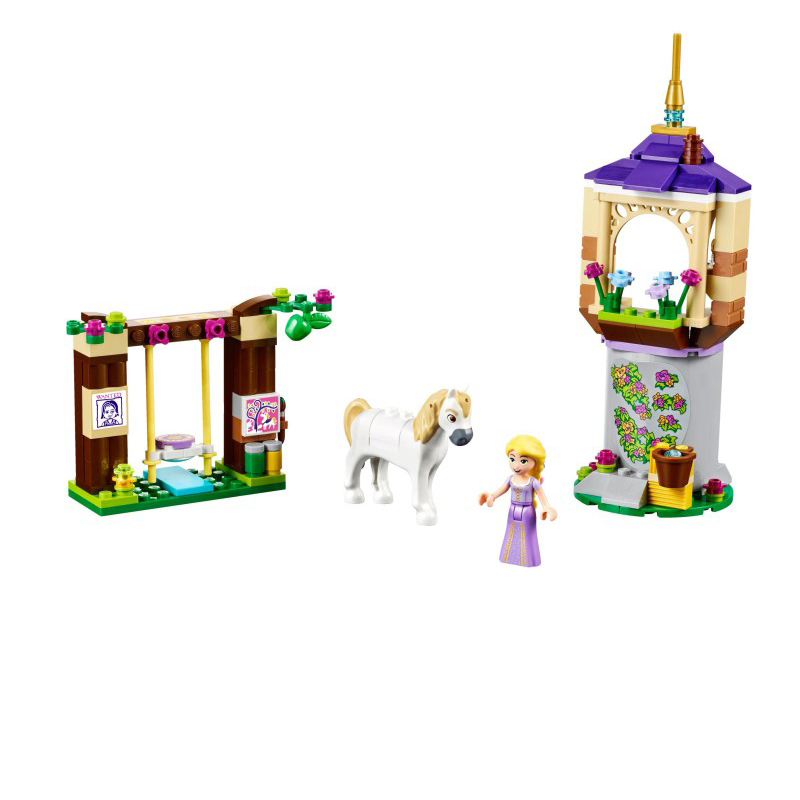 LELE 37000 148pcs Girls Friends Series Rapunzel's Best Day anime action figures Building Blocks Bricks Toys for girls gifts