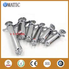 Quality Assurance 50ml/cc Stainless Steel Metal Syringe