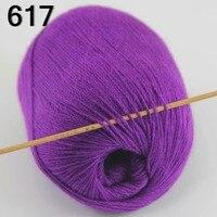 High Quality 100 Pure Cashmere Luxury Warm Soft Hand Knitting Yarn Royal Purple 233 17