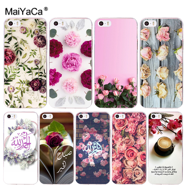 49d834e6bb6f0e MaiYaCa Handmade Natural Real Dried Flowers Phone Accessories Case for  iPhone 8 7 6 6S Plus X 10 5 5S SE 5C 4 4S Coque Shell