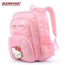 Pink Hello Kitty Schoolbag Girls Kawaii Cartoon printing Backpacks School Bags for Kids Cute Gift Korean Bagpack School Supplies
