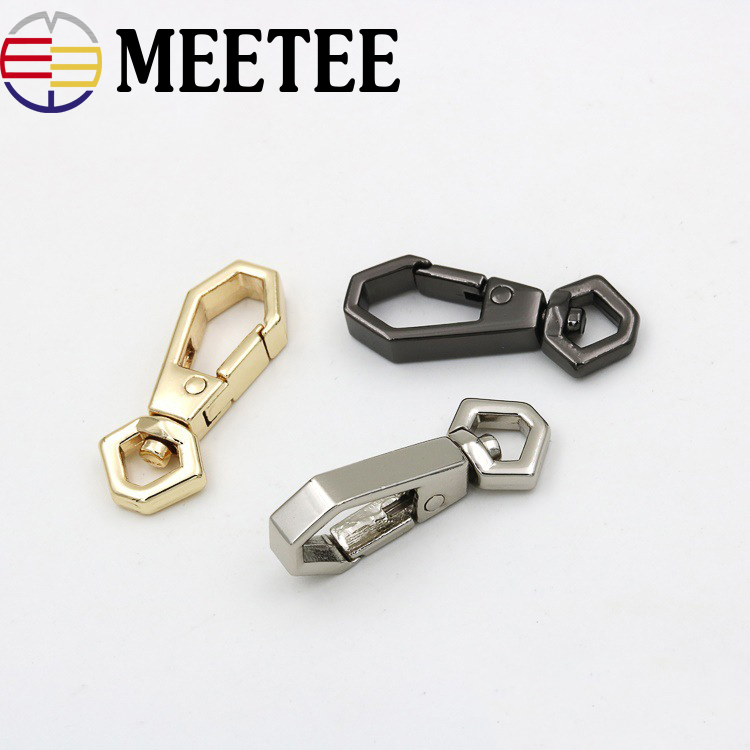 Home & Garden Buckles & Hooks Romantic 1 Inch Bag Hooks Swivel Handbag Backpack Buckles Pets Snap Hook 5pcs Silver Gold Gun Black 25mm Inside