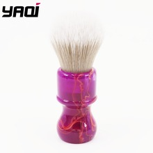 Yaqi chianti 24mm cabelo sintético escova de barbear
