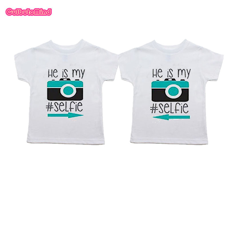 2 of 2 Toddler Short Sleeve T-Shirt Twin Set 1 of 2