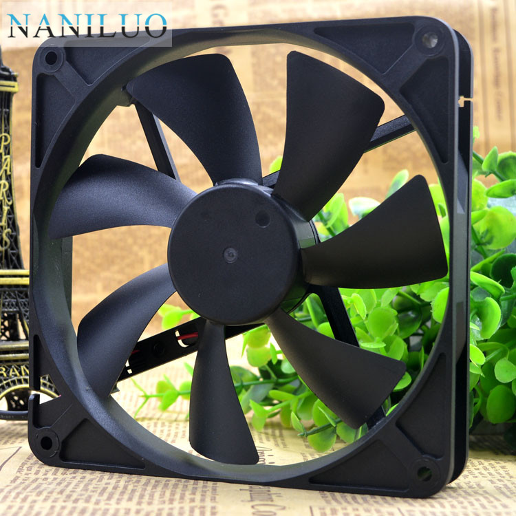 NANILUO Free Delivery.14 <font><b>cm</b></font> 14025 power resistance of the AN yue lun/<font><b>fan</b></font> D14BH - <font><b>12</b></font> mute a cooling <font><b>fan</b></font> image