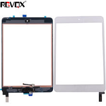 Mini4 New Original Touch Screen Digitizer For iPad mini 4 A1538 A1550 with Home Button TP + IC Front Glass Panel Replacement touch glass touch screen panel new tp 3435 s1