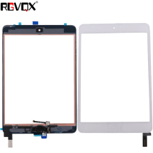 New Original Touch Screen Digitizer For iPad mini 4 A1538 A1550 with Home Button TP + IC Front Glass Panel Replacement цена 2017