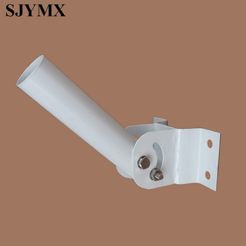 SJYMX regulowany w górę iw dół 40 stopni biegun dla lampy uliczne LED do montażu na ścianie na ścianie tanie i dobre opinie Oświetlenie uliczne Brak iron JM-ZJ010 Wall Mounted Pole For LED Street Light Ip33 5 years Współczesna Przemysłowe Żarówki led