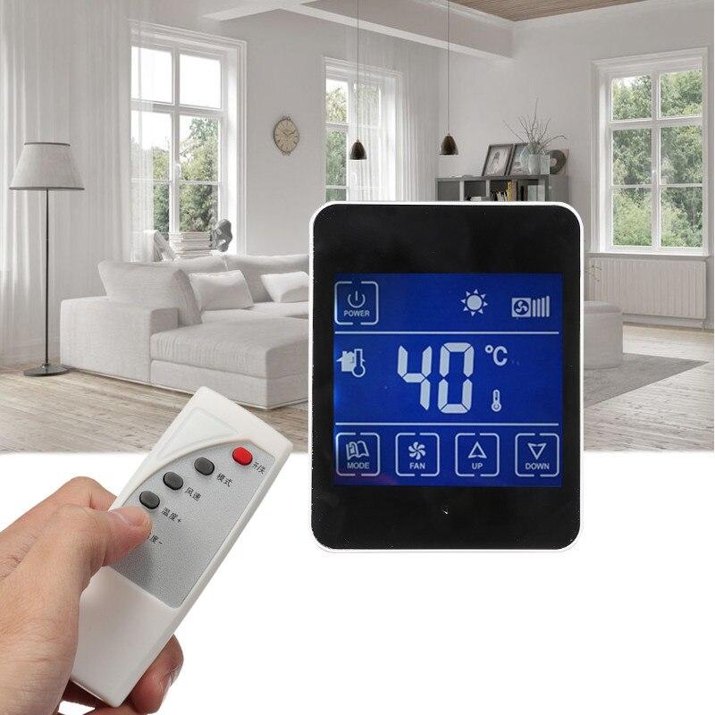 best promotion lcd digital display room air smart home. Black Bedroom Furniture Sets. Home Design Ideas