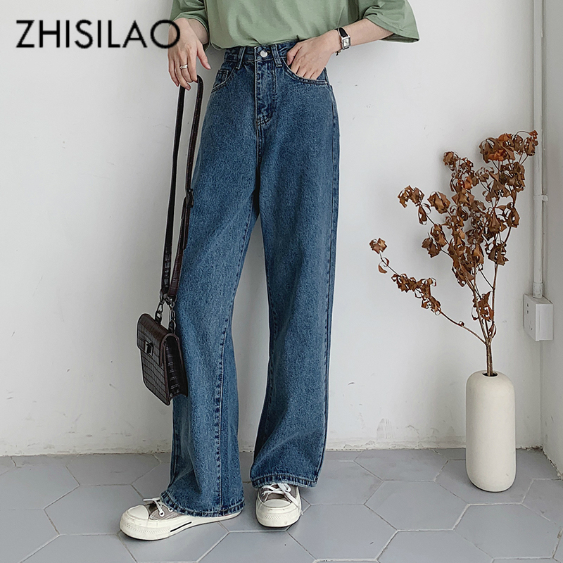 Wide Leg Women Jeans Plus Size Loose Straight Denim Pants 2019 Vintage Boyfriends Mom Jeans Maxi Street Oversize Jeans Femme