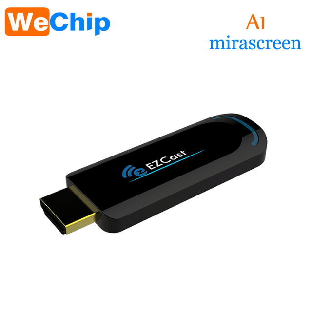 Wechip גבוהה כיתה A1 5 גרם Dongle Miracast Smart Box DLNA HDMI הטלוויזיה Dongle הטלוויזיה Stick EZCast Airplay Media Player IOS הורדה אנדרואיד