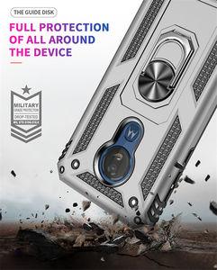 Image 3 - Per Motorola Moto G6 G7 Più G7 Potenza G8 Gioco di Caso Armatura Anello Magnetico Del Supporto Del Basamento Della Copertura per Moto G6 g7 Gioco E5 E6 Più Z4
