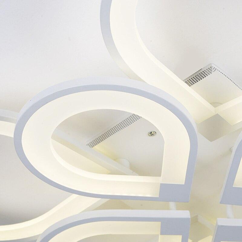 Unterputz Acryl Deckenleuchten Schlafzimmer Home Led Wohnzimmer Foyer  Leuchten Luminarias Deckenlampe Plafonnier Lampen In Unterputz Acryl  Deckenleuchten ...