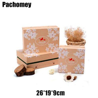 Rectangle Square Type Gift Boxes 2015 Hot Sale 26 19 9cm Party Paper Favor Christmas Giift