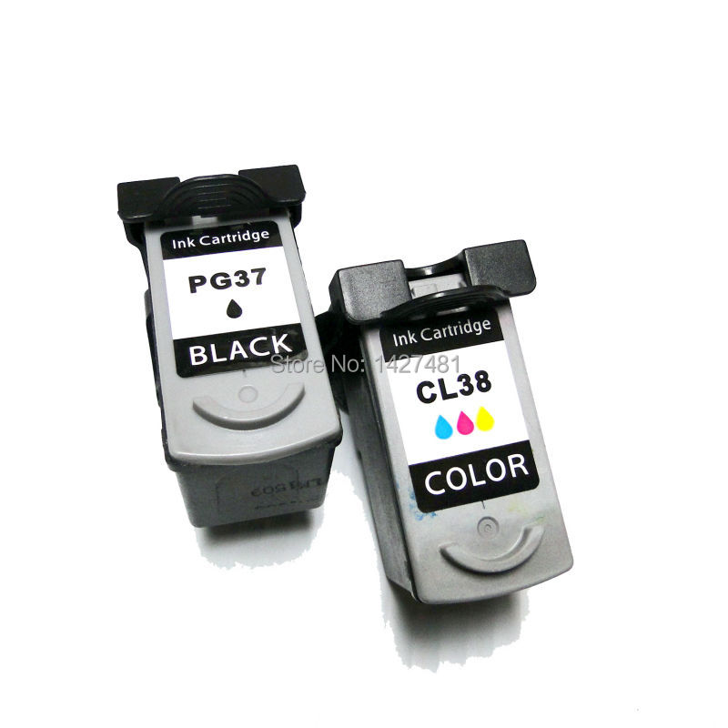 YOTAT Remanufactured Ink Cartridge PG37 PG-37 CL-38 for Canon pixma P210 MP220 IP260 IP1900 IP1800 IP2500 MX300 MX310 mini260YOTAT Remanufactured Ink Cartridge PG37 PG-37 CL-38 for Canon pixma P210 MP220 IP260 IP1900 IP1800 IP2500 MX300 MX310 mini260