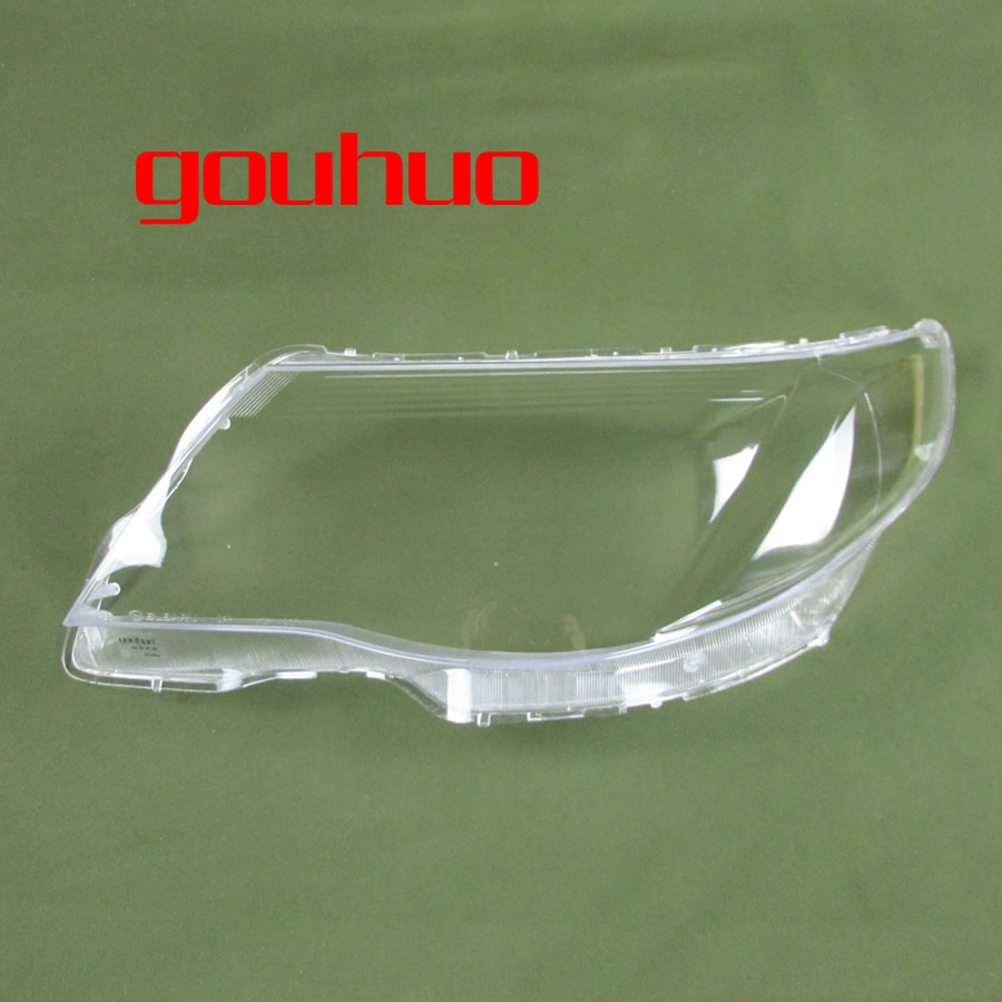 For SUBARU Forester 09 12 Lamp Cover Headlamp Shell Transparent Lampshade Headlight Cover Lens Glass 2pcs