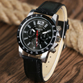 ZhongYi Sport Watches for Men Military Army Casual Quartz Wristwatch Leather Strap Band Male Clock Relogio Masculino Hours