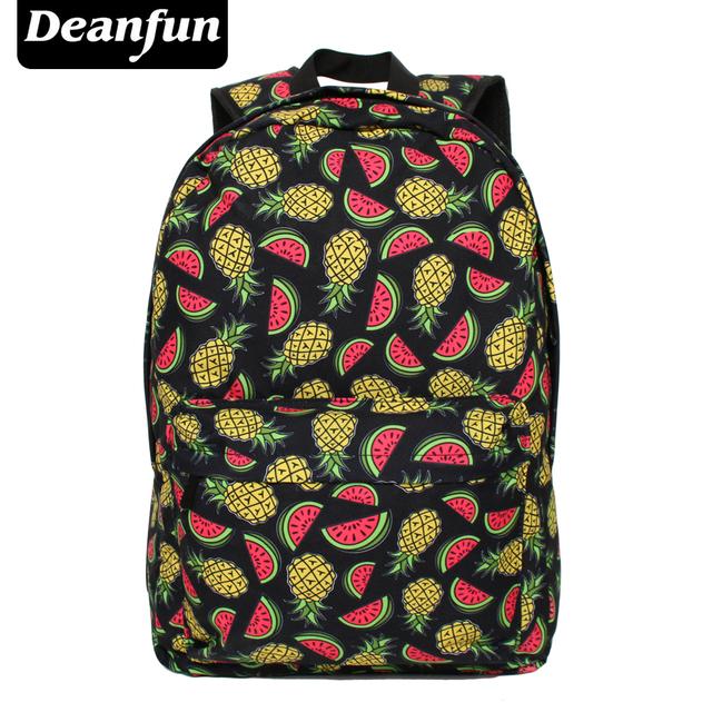 Deanfun Mujeres Mochila de Impresión Bolsas Escolares para Adolescentes Bookbags Lindos Encantadores Mochilas Femenino