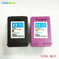einkshop 123 compatible Ink Cartridge Replacement For HP 123 xl 123xl Deskjet 1110 2130 2132 2133 2134 3630 3632 3638 3830 4520