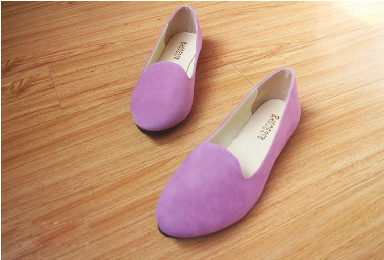 Hot selling large size 35-42 classic candy color ladies shoes fashion wild slip on flat shoes women casual summer shoes DT55 (16)