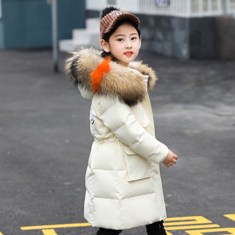 2018 winter down jacket parka for girls boys coats , 80% down jackets children's clothing for snow wear kids outerwear & coats