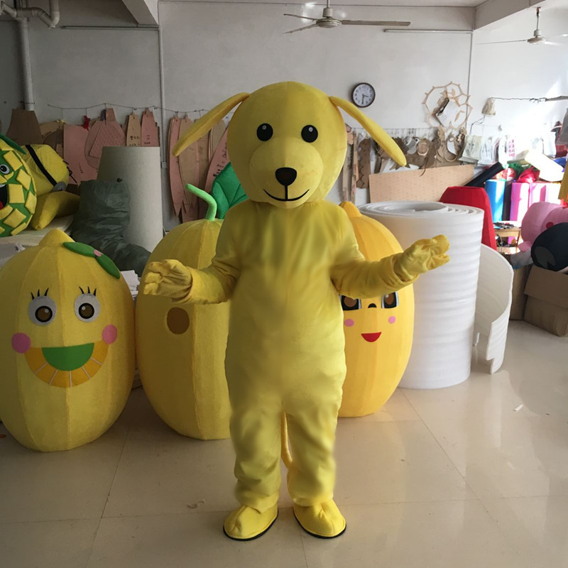 Dog Puppy Mascot four colours available funny mascots cosplay theme mascotte carnival costume Fancy party dress