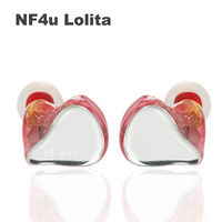 NF Audio NF4U NF 4U Lolita for ACG 4 Knowles BA+Dynamic Hybrid Drivers HIFI In ear Earphone with 2pin /0.78mm Detachable Cable